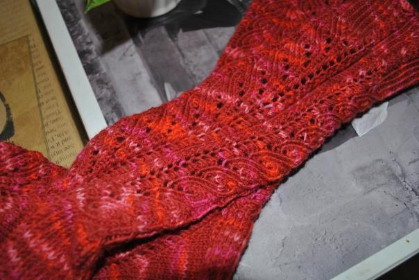 chaussettes corail