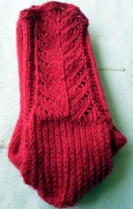 "Chaussettes "" coquelicot"""